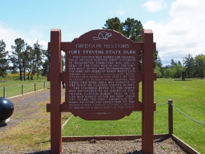 Every time we went to Fort Stevens my dad read this sign to all of us~