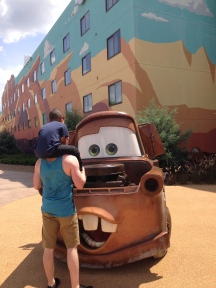 Look, it's Mater!