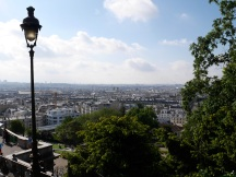 View from outside Sacré Coeur