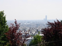 View over Paris from Sacré Coeur