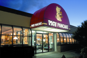 Established in 1961, the Pig 'N Pancake offers 35 varieties of breakfast (including homemade pancakes) served anytime! Or try our delicious soups, chowder, steaks, seafood, pasta dishes and incredible desserts.