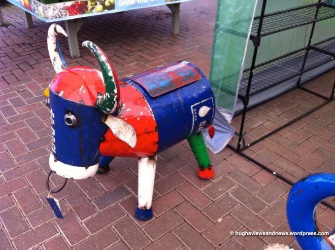 Garden Cow